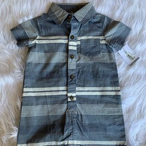NWT Carters Cotton Striped Jumper